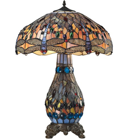 "Dragonfly 26"" Table Lamp"