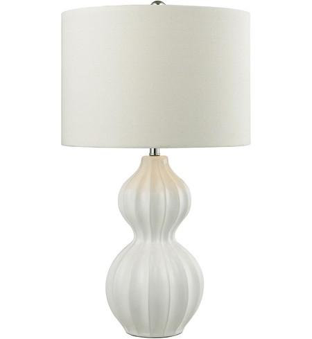 "Ribbed Gourd 26"" Table Lamp"
