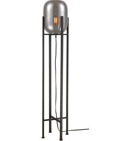 "Cravate Noir 48"" Floor Lamp"