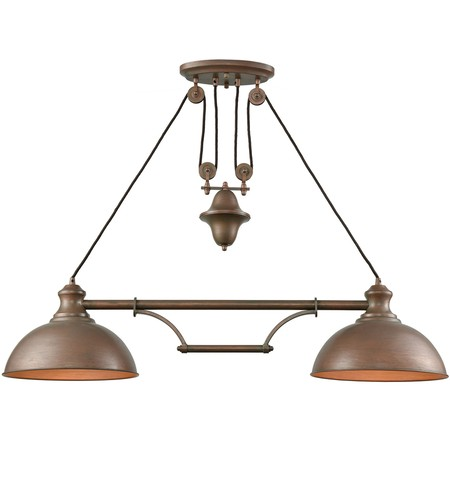 "Farmhouse 44"" Island Light"