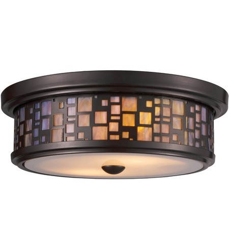 "Tiffany Flushes 13"" Flush Mount"