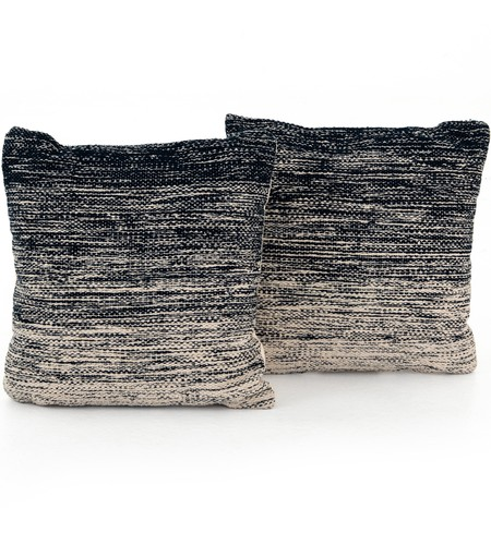 "Midnight Ombre 20"" Pillow (Set of 2)"