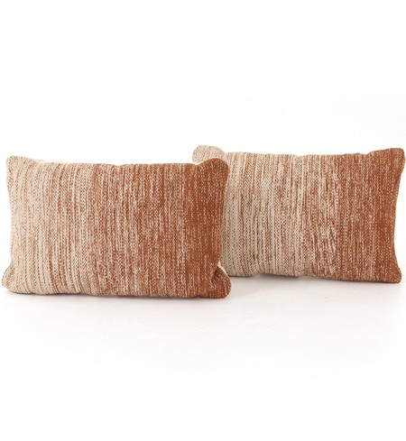 "Tawny Ombre 16x24"" Pillow (Set of 2)"