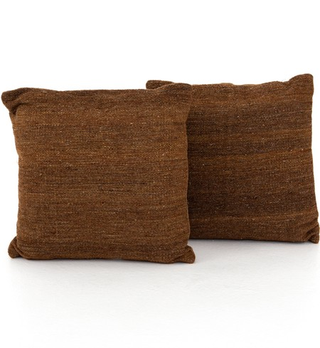 "Tawny Kilim 20"" Pillow (Set of 2)"