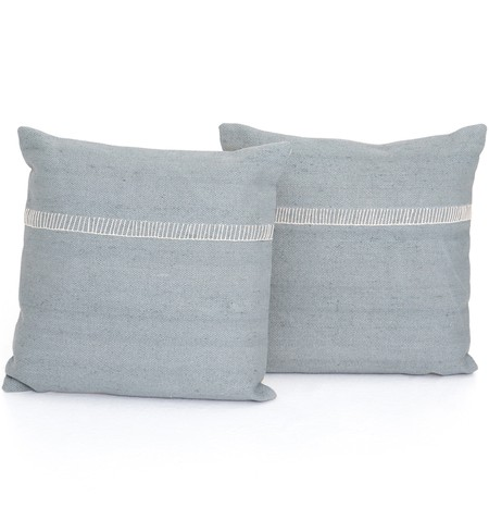 "Alese Stone 20"" Pillow (Set of 2)"