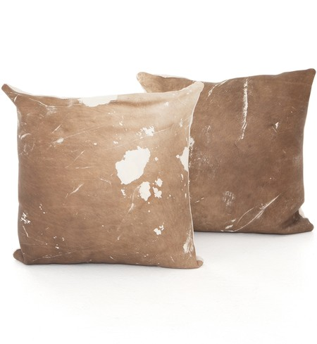 Modern Cowhide Pillow (Set of 2)