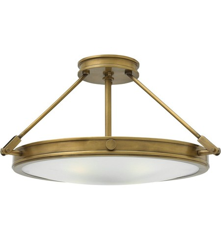"Collier 22"" Semi-Flush"