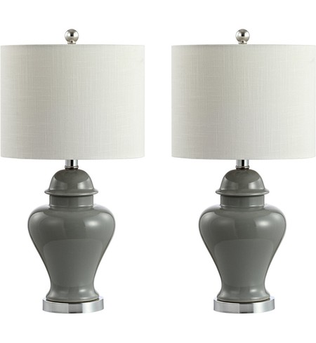 "Qin 22"" Table Lamp (Set of 2)"
