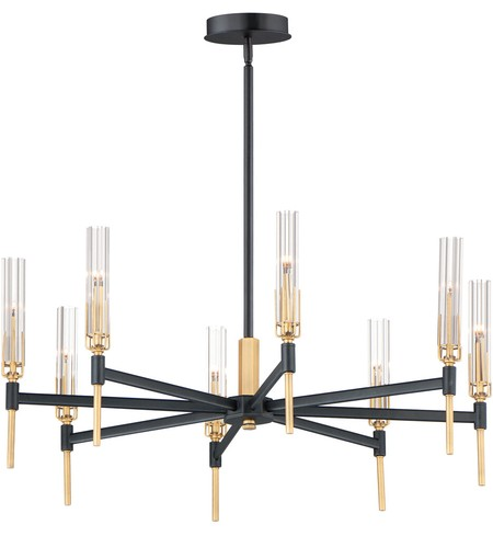 "Flambeau 33"" Chandelier"