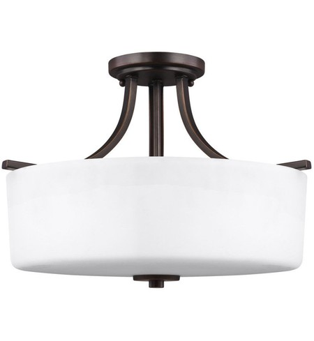 "Canfield 16"" Semi-Flush"