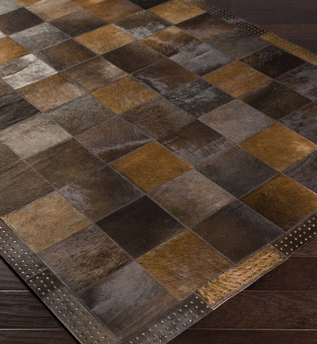 Vegas Hides & Leather Hand Crafted Rug
