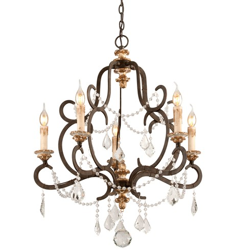 "Bordeaux 27.5"" Chandelier"