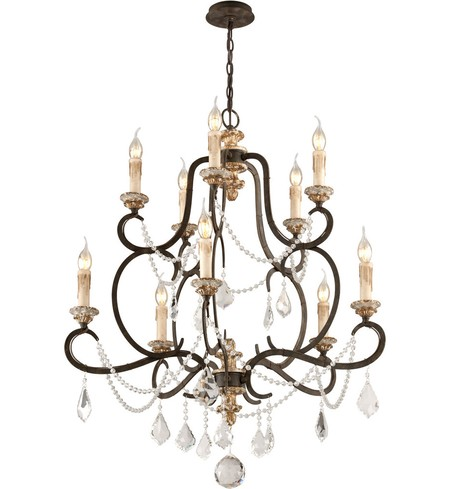 "Bordeaux 32.25"" Chandelier"