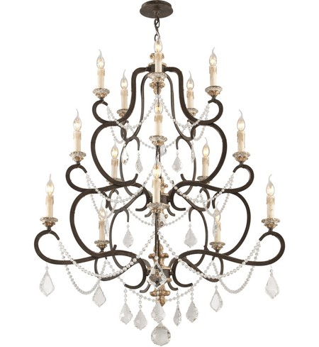 "Bordeaux 43"" Chandelier"