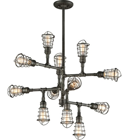 "Conduit 34.25"" Chandelier"