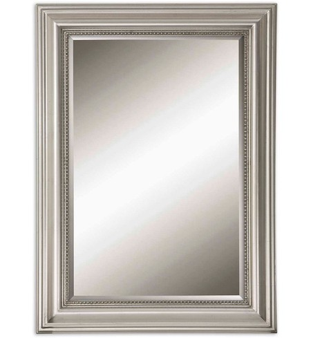 Stuart Silver Beaded Mirror