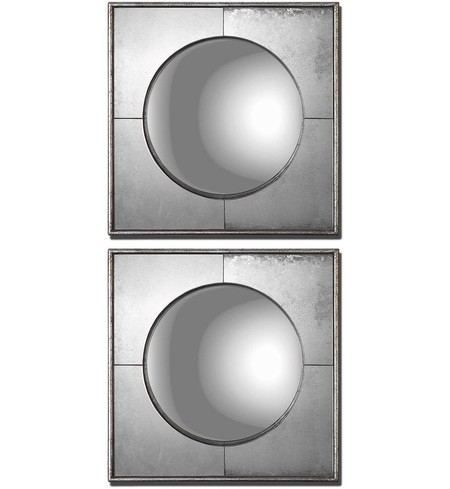 Champagne Silver Mirrors (Set of 2)