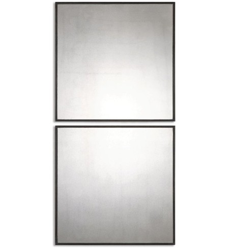 Matty Antiqued Square Mirrors (Set of 2)
