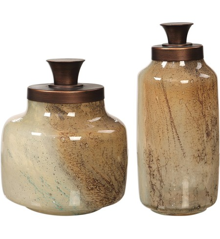Elia Glass Containers (Set of 2)