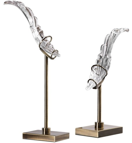 Wings Sculpture (Set of 2)