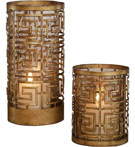 Ruhi Hurricane Candleholders (Set of 2)