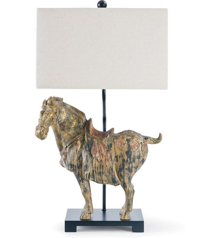 "Dynasty Horses 32"" Table Lamp (Set of 2)"
