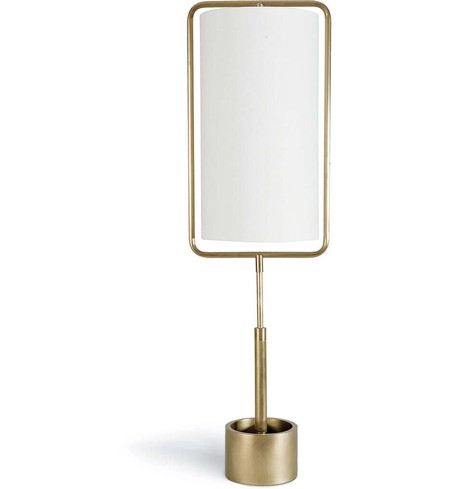 "Geo Rectangle 38.25"" Table Lamp"