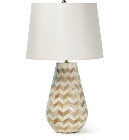 "Cassia Chevron 23"" Table Lamp"