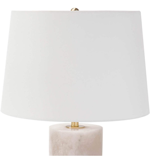 "Joan Alabaster Large 25"" Table Lamp"