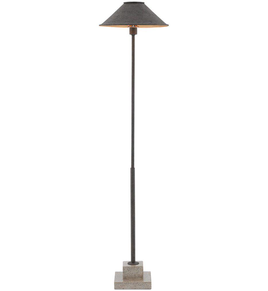 Currey & Company - 8000-0016 - Fudo Floor Lamp
