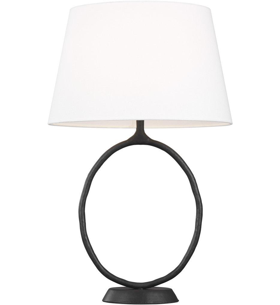 ED Ellen DeGeneres - ET1001AI1 - Indo Aged Iron 1 Light Table Lamp
