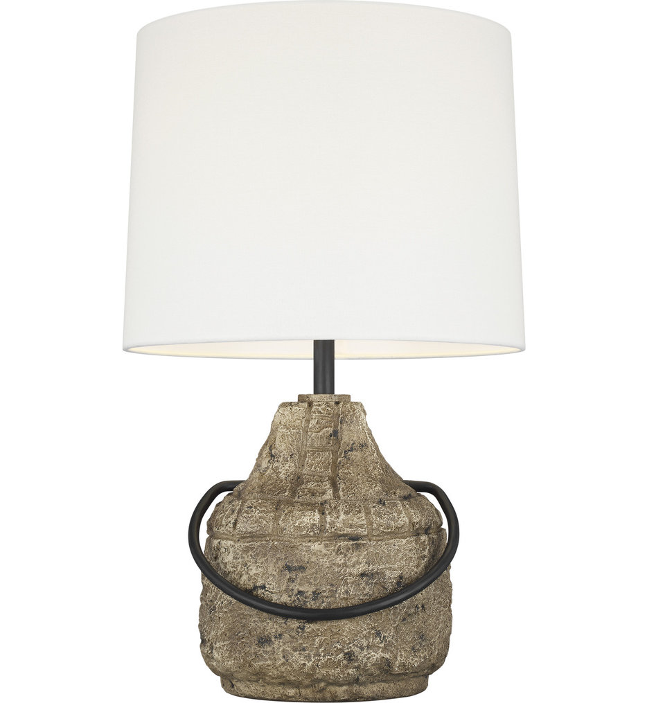 ED Ellen DeGeneres - ET1141STN1 - Augie Stone 1 Light Table Lamp