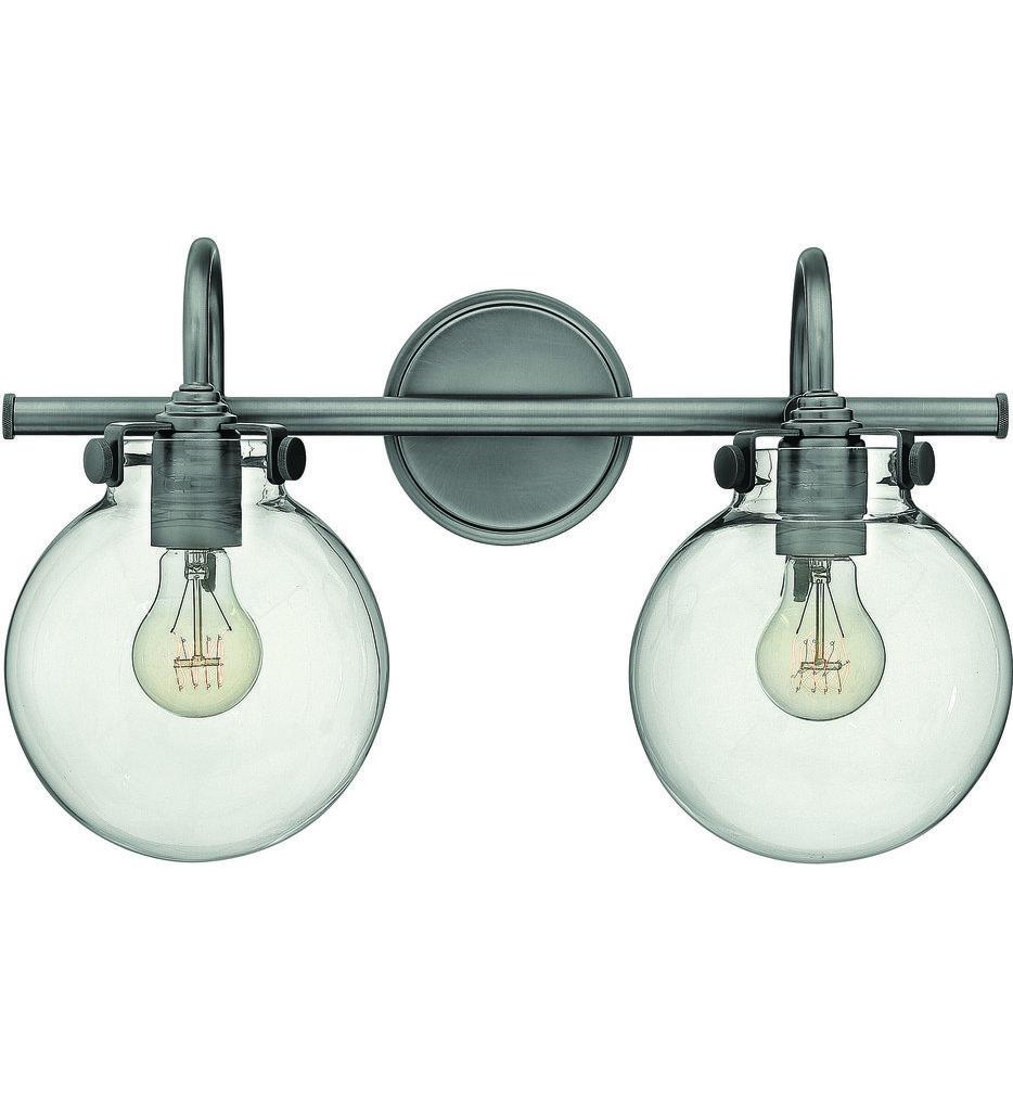 Lamps Com Hinkley Lighting Congress 2 Light Bath Vanity
