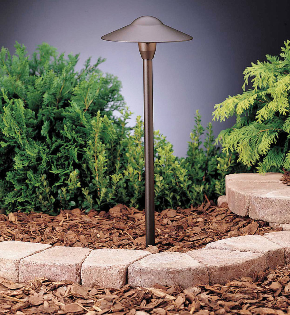 Kichler - 15310AZT6 - Landscape Textured Architectural Bronze 21 Inch Path Light (Set of 6)