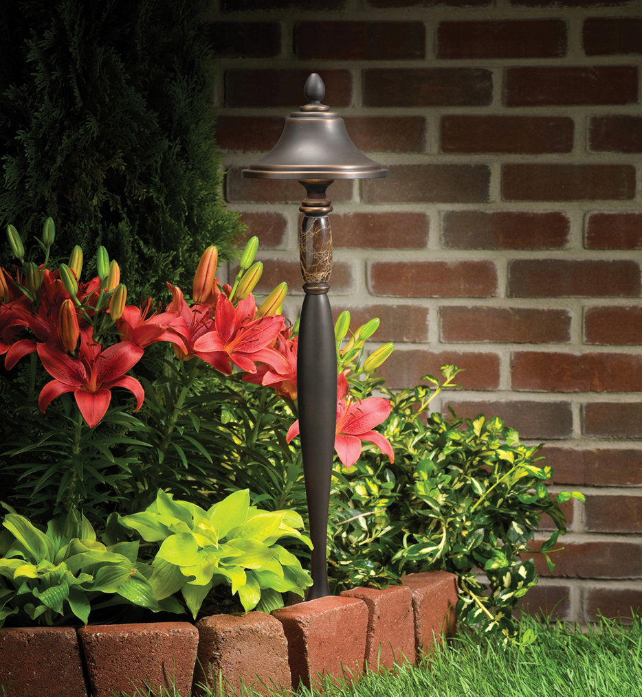 Kichler - 15447OZ - Landscape Olde Bronze 25 Inch Path Light