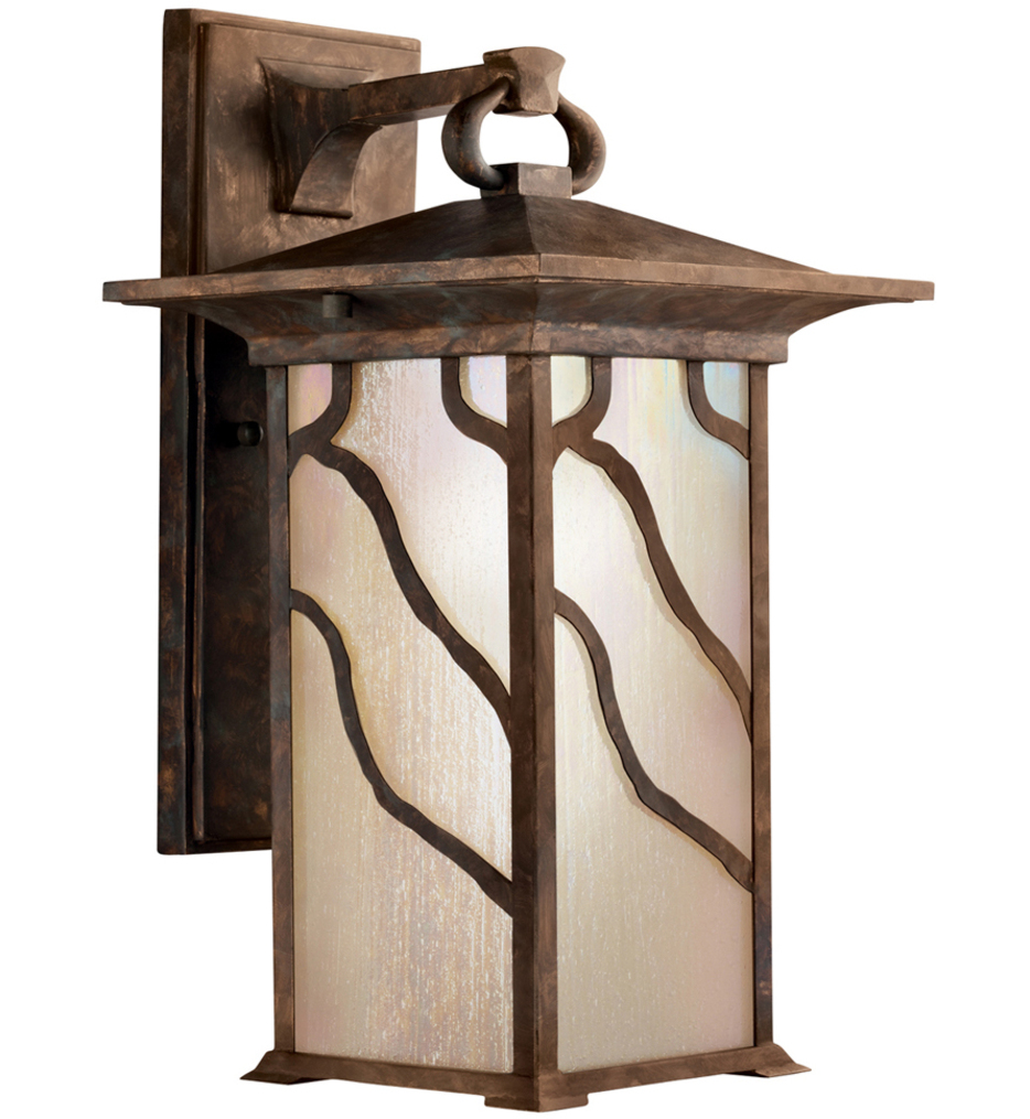 Kichler - 9031DCO - Morris Distressed Copper 15 Inch 1 Light Outdoor Wall Sconce