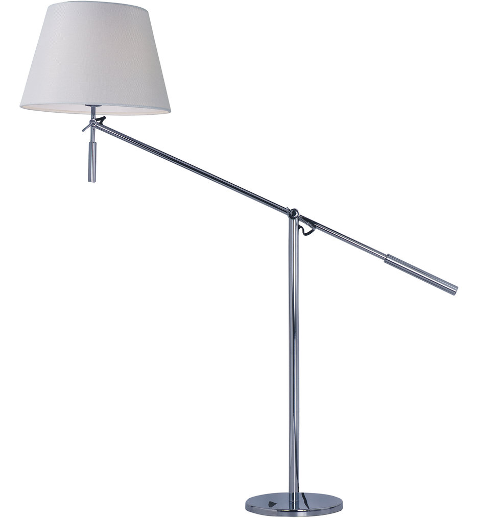Hotel Polished Chrome 28 Inch Table Lamp By Maxim Lighting