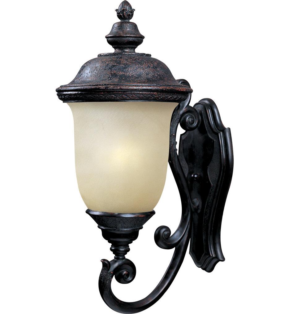 Maxim Lighting - 86524MOOB - Carriage House Oriental Bronze 26.5 Inch 1 Light Fluorescent Outdoor Wall Mount