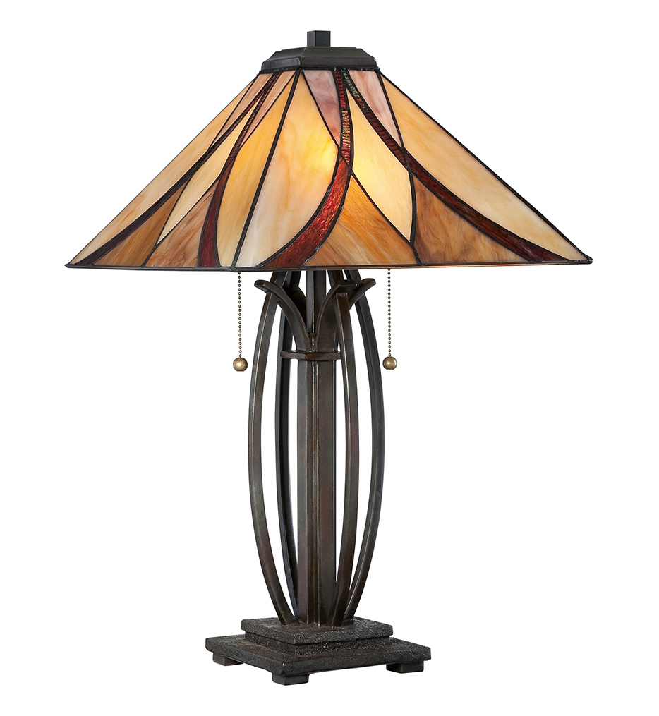 Quoizel - TF1180TVA - Asheville Valiant Bronze Table Lamp