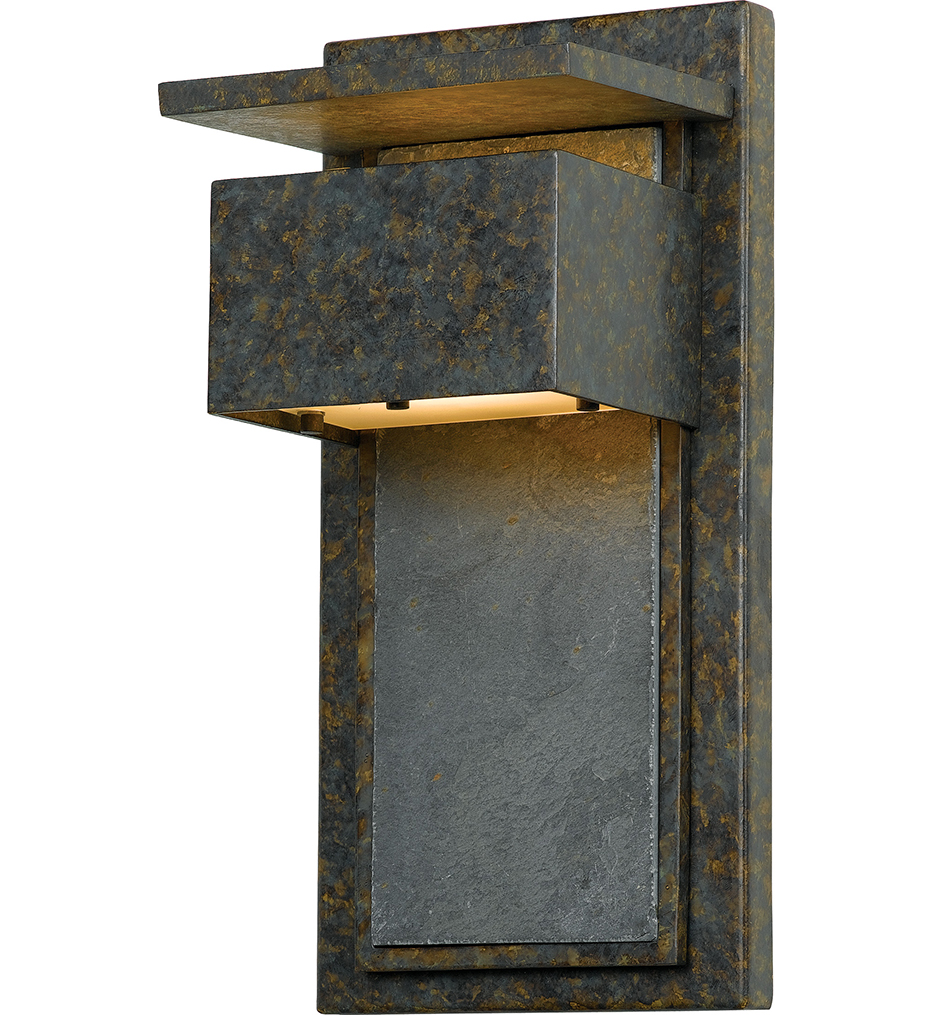 Quoizel - ZP8414MD - Zephyr Muted Bronze Outdoor Wall Sconce
