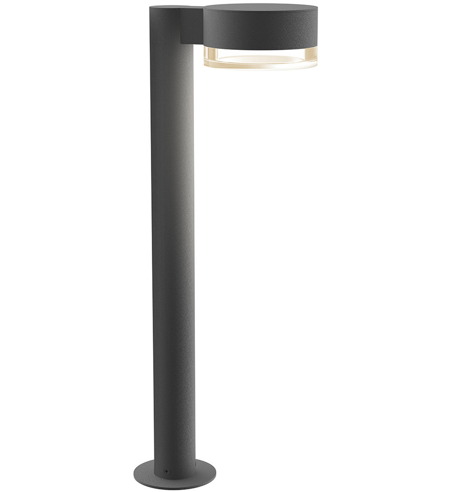 Sonneman - REALS 22 Inch Clear Cylinder Lens Bollard Outdoor Path Light