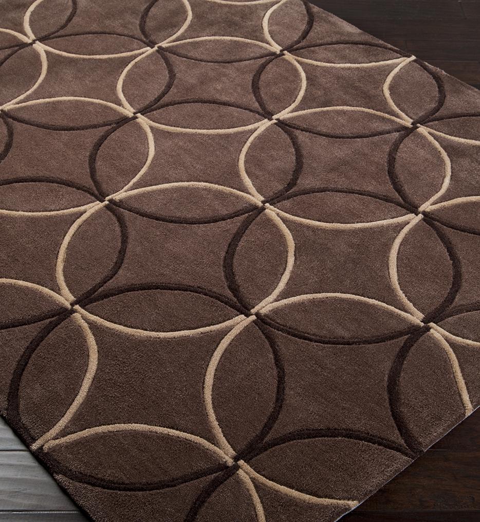 Surya - Cosmopolitan Overlapping Circles Hand Tufted Rug