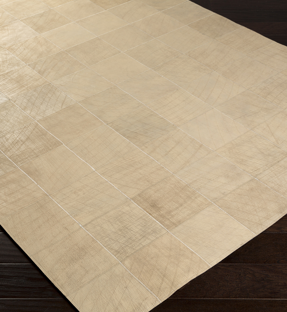 Surya - Outback Hides and Leather Hand Woven Rug