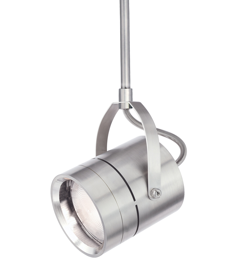 Tech Lighting 700ttspt30s12s Spot T Trak Satin Nickel 11 1 Inch 75 Watt Halogen Par30 Short Track Head