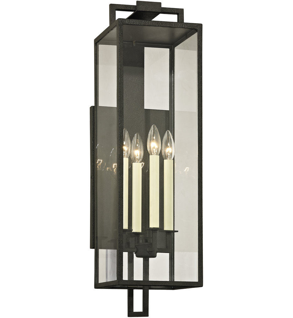 Troy Lighting - Beckham 4 Light Outdoor Wall Lantern