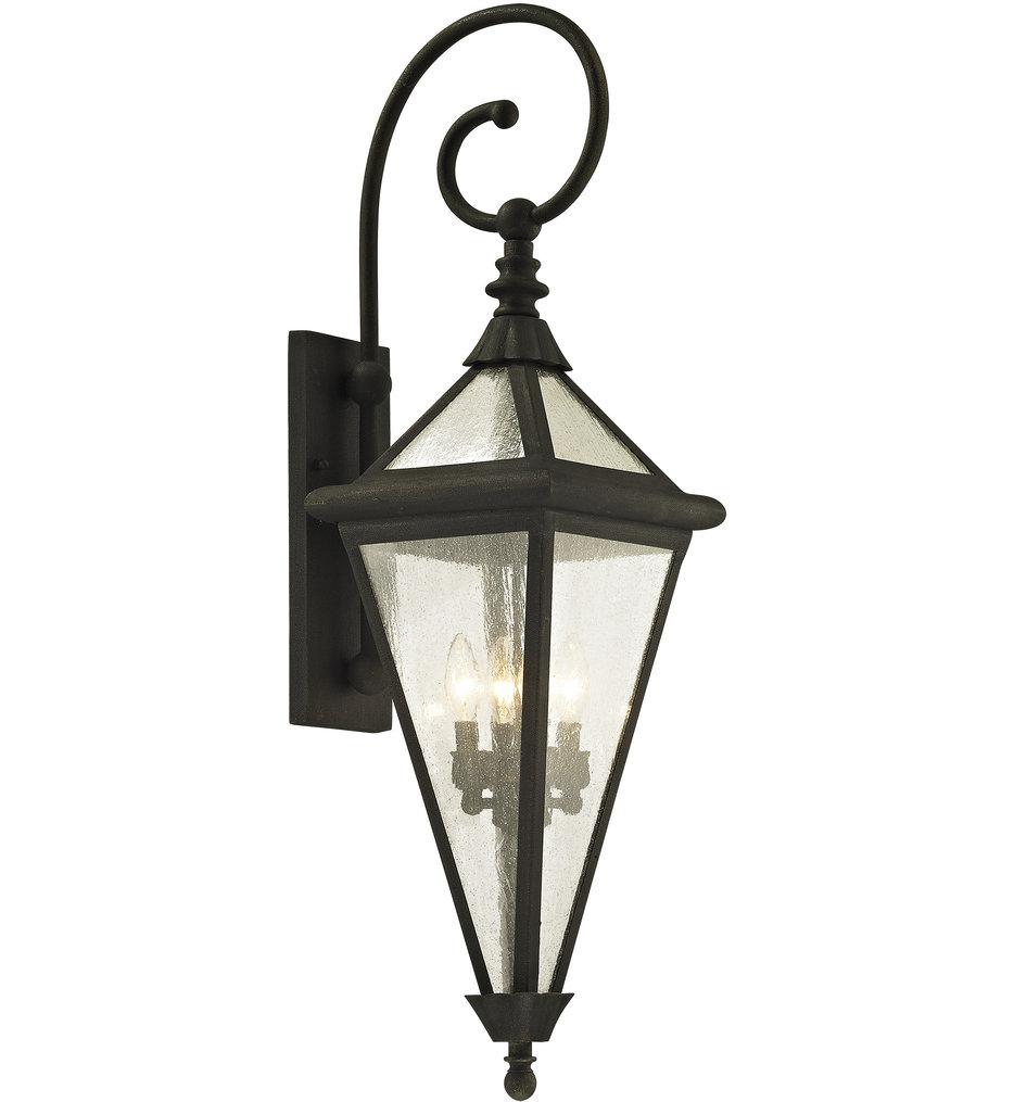 Troy Lighting - B6473 - Geneva Vintage Bronze 37.5 Inch 4 Light Outdoor Wall Lantern