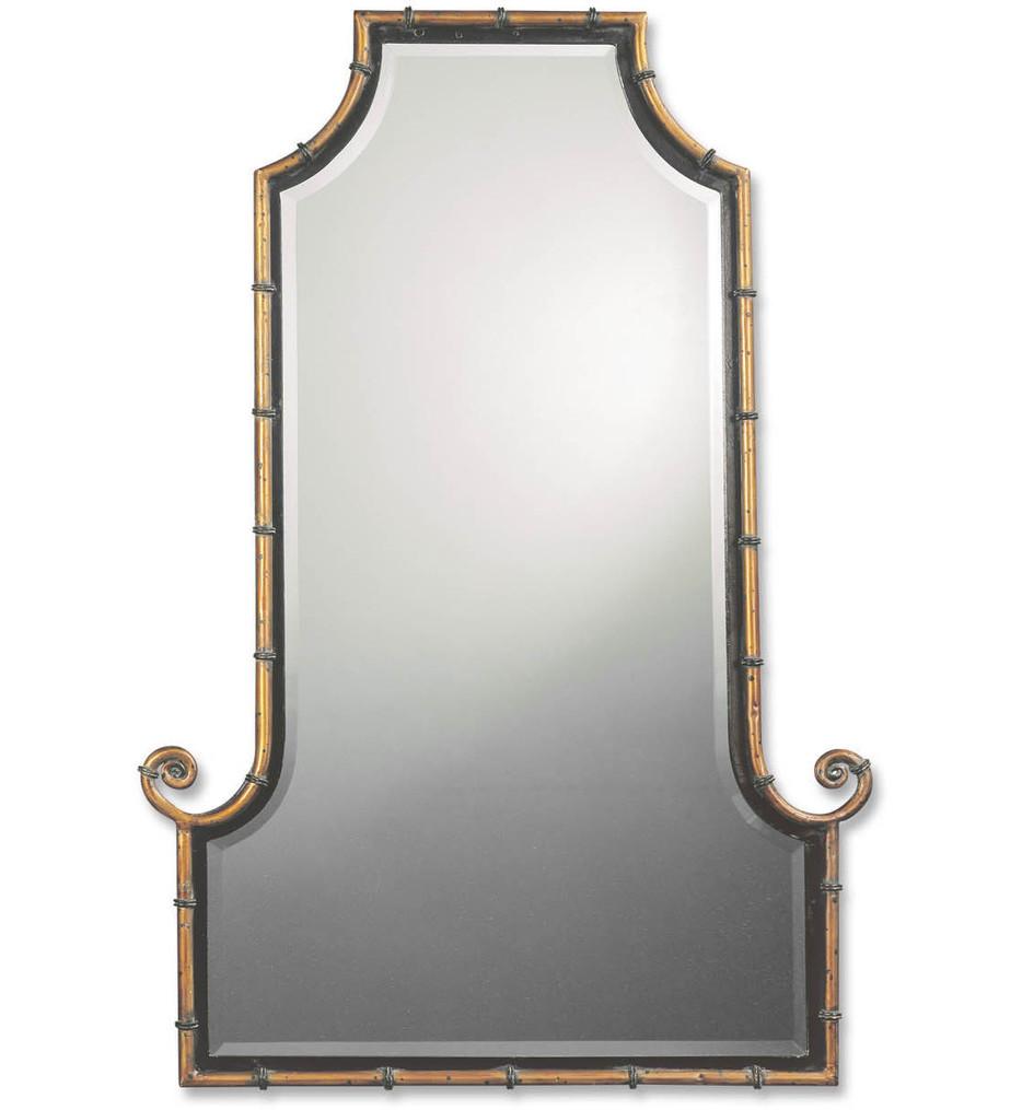 Uttermost - 10770 B - Himalaya Iron Bamboo Mirror