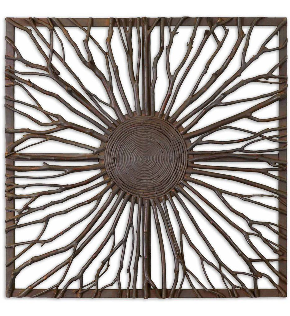 Uttermost - 13777 - Josiah Square Wooden Wall Art