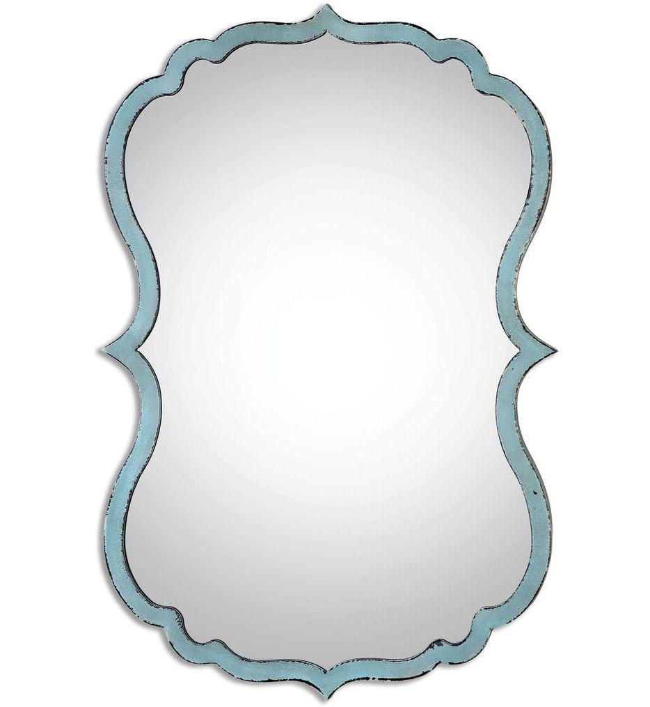 Uttermost - 13925 - Nicola Light Blue Mirror