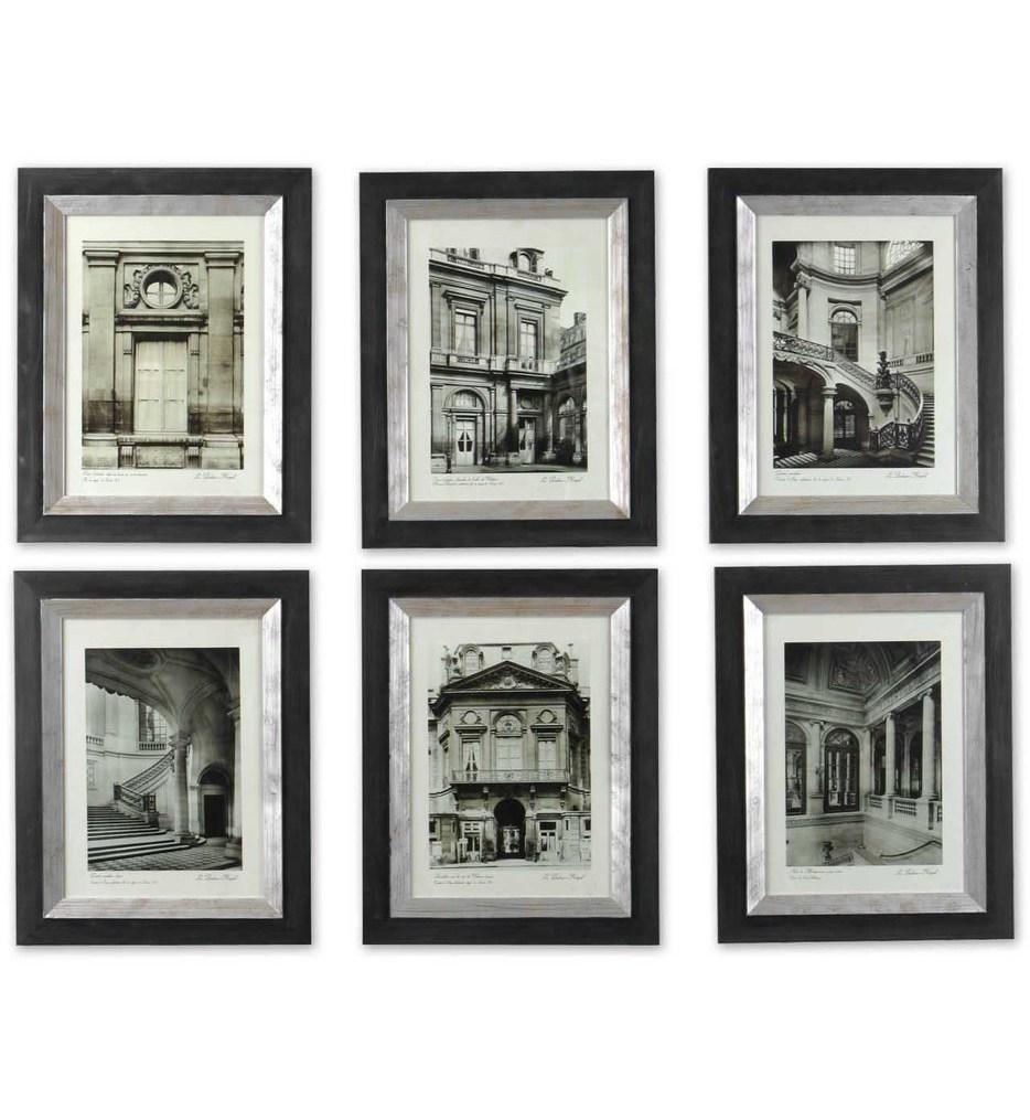 Uttermost - 33430 - Paris Scene Framed Art (Set of 6)